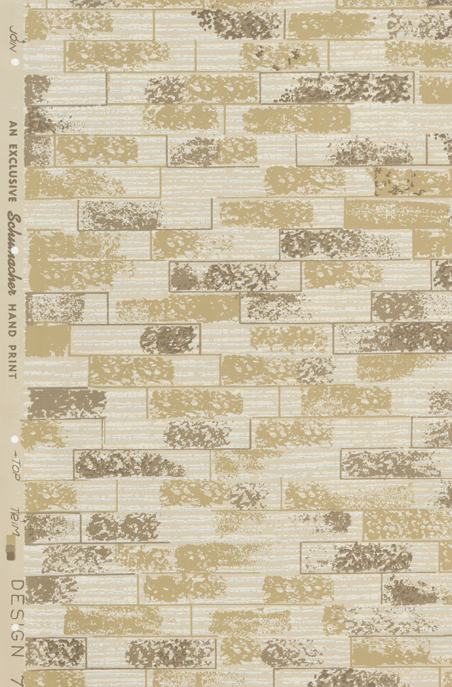 design 704 wallpaper samples schumachers taliesin line of decorative fabrics and wallpapers designed by frank - Decorative Wallpaper
