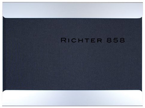RICHTER 858. Eight Abstract Pictures. David Breskin, Klaus Kertess, Dave Hickey, San Francisco. MOMA, Bill Frisell, music, ed.