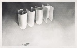 Cotton Puffs, Q-Tips, Smoke and Mirrors: The Drawings of ED RUSCHA. Margit Rowell, an, Cornelia Butler, Los Angeles. MoCA, Washington. National Gallery of Art, New York. Whitney, Los Angeles. MOCA.