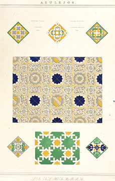 Plans, Elevations, Sections and Details of the Alhambra. Owen Jones.