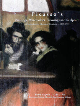 PICASSO'S Paintings...PICASSO in the Nineteenth Century: Youth in Spain II, 1897-1900. Barcelona, Madrid, Horta de Saint Joan and Malaga. Picasso Project, Hershel Chipp, Alan Hyman, Elizabeth Snowden, The Picasso Project.
