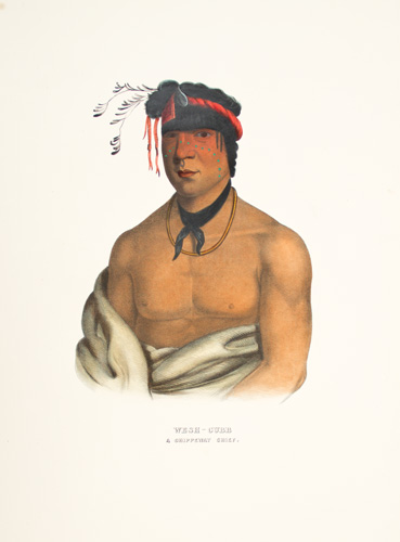 WESH CUBB. History of the Indian Tribes of North America. Thomas McKenney, James Hall.