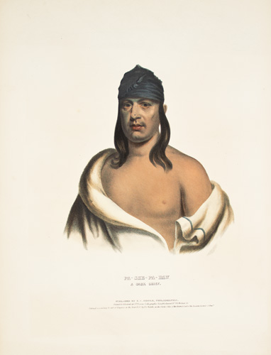 PA-SHE-PA-HAW. History of the Indian Tribes of North America. Thomas McKenney, James Hall.