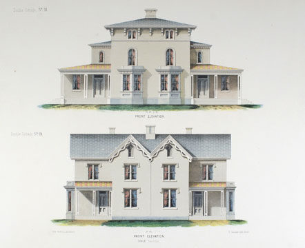 Architectural Designs for Model Country Residences. John Riddell.