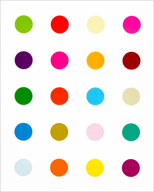DAMIEN HIRST: The Complete Spot Paintings 1986-2011. Michael Bracewell.