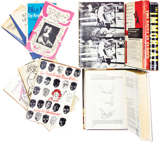 A Collection of Warhol's early Work in Books and Magazines. Andy WARHOL.
