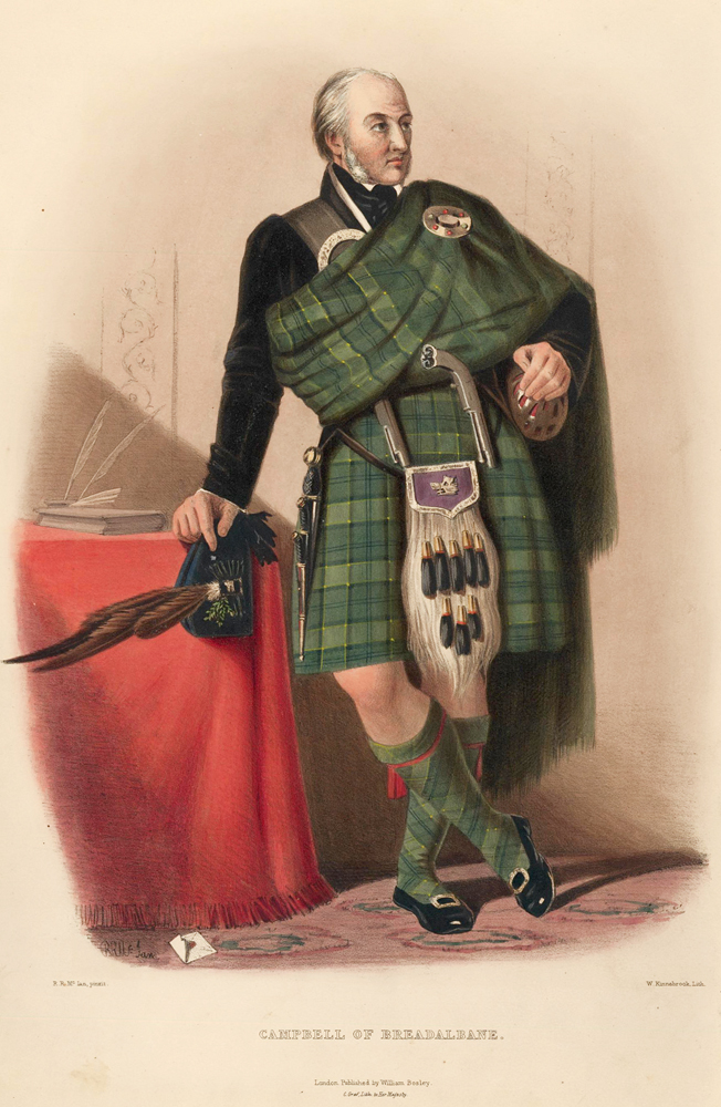 Campbell Of Breadalbane Tartan The Clans Of The Scottish