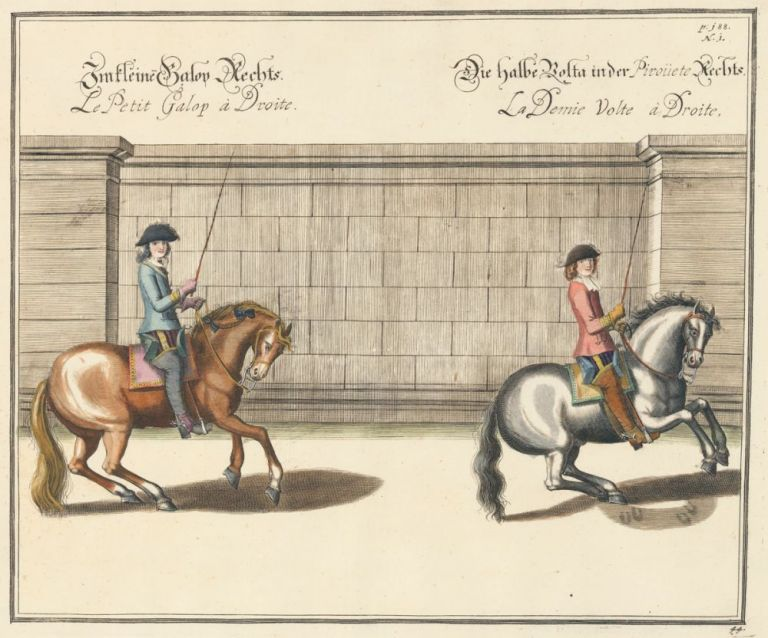 Plate 44. Le Petit Galop a Droite. William of Newcastle, Newcastle.