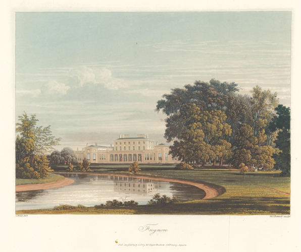 Frogmore. The History of the Royal Residences. W. H. Pyne, Pyne.