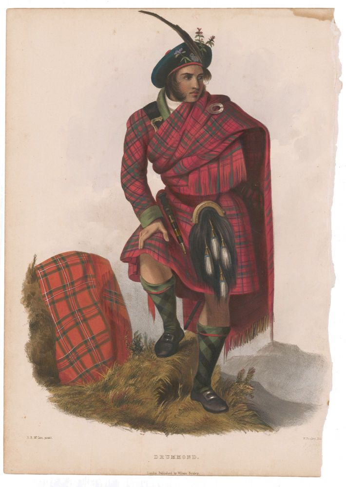 Drummond. The Clans of the Scottish Highlands. R. R. McIan.