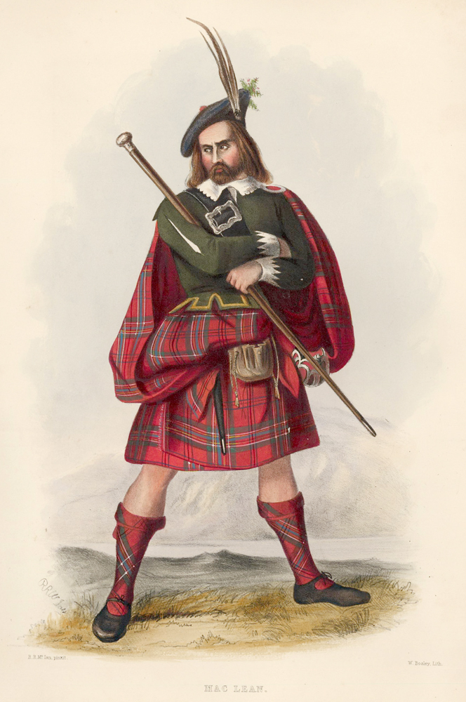 Mac Lean. The Clans of the Scottish Highlands. R. R. McIan.