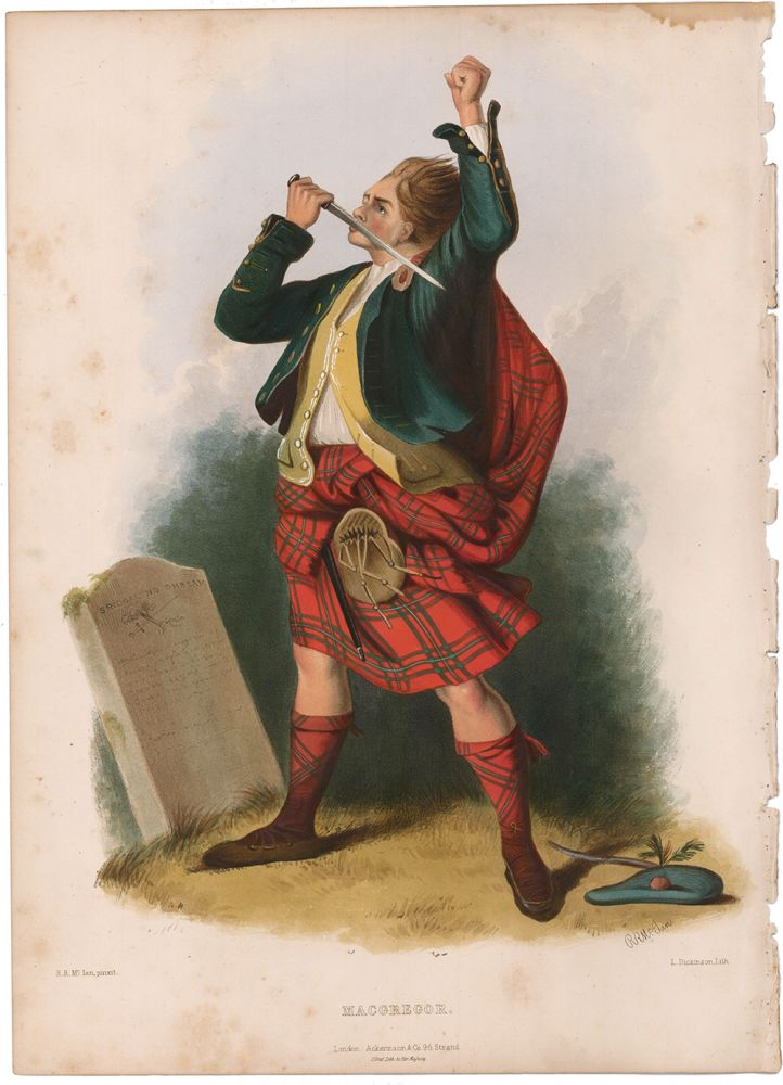 MacGregor. The Clans of the Scottish Highlands. R. R. McIan.
