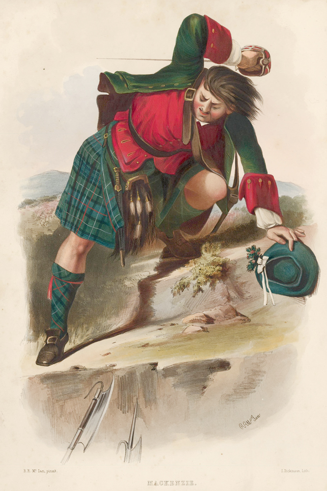 MacKenzie. The Clans of the Scottish Highlands. R. McIan.