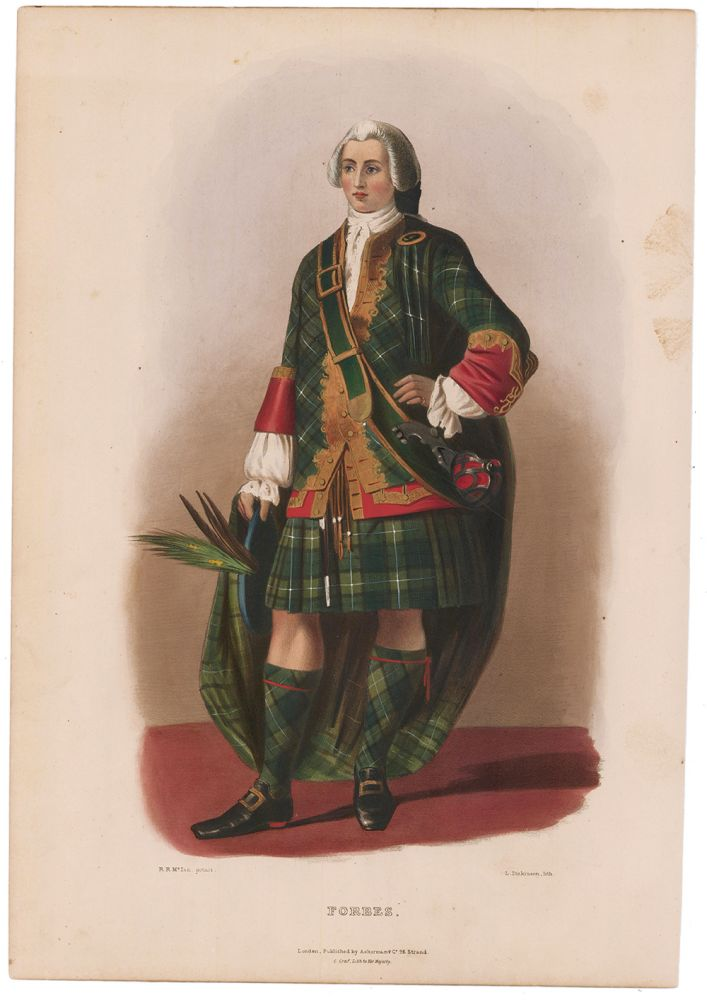 Forbes. The Clans of the Scottish Highlands. R. R. McIan.