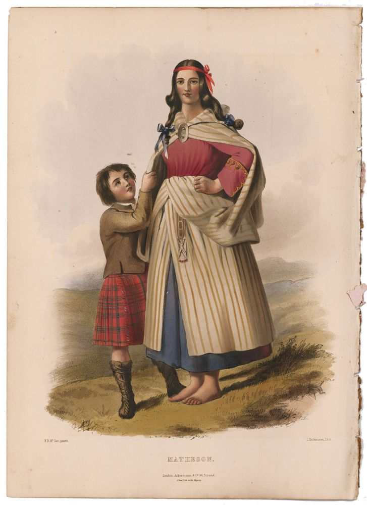 Matheson. The Clans of the Scottish Highlands. R. R. McIan.
