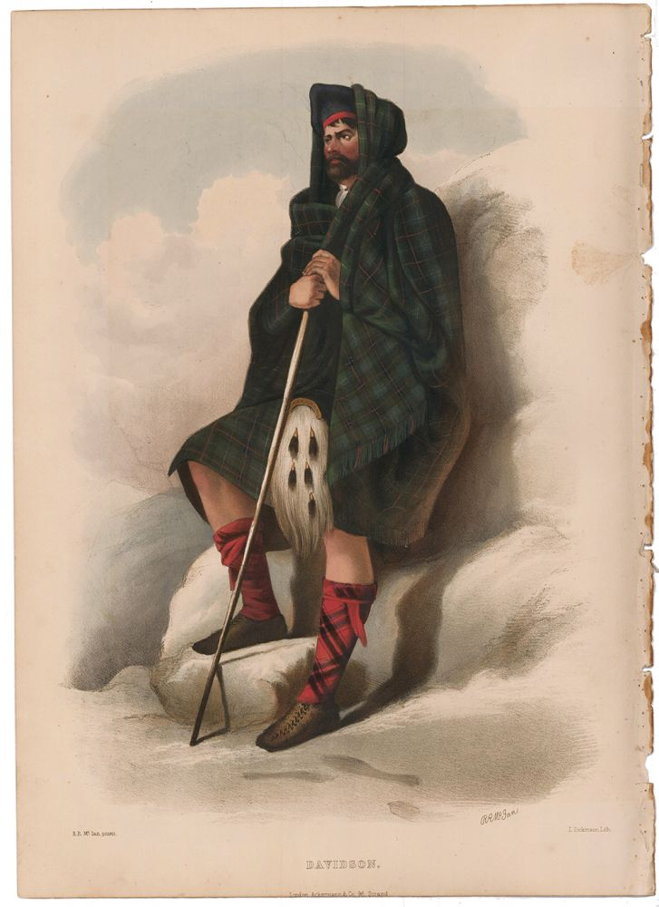 Davidson. The Clans of the Scottish Highlands. R. R. McIan.