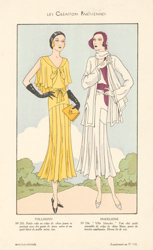 Tollmann and Madeleine. Les Creations Parisiennes. Les Creations Parisiennes.