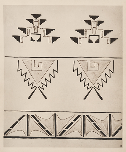 Triangular Designs. American Indian Designs. Inez B. Westlake.