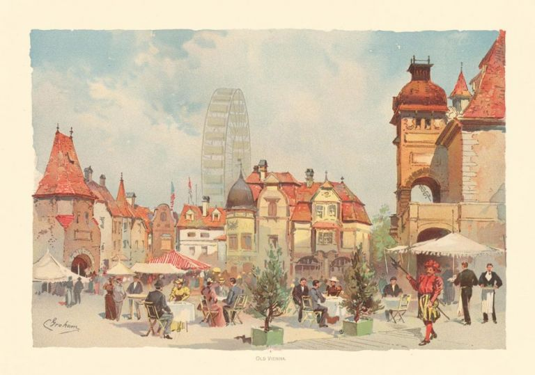 Old Vienna. The World's Fair in Water Colors. Charles S. Graham.