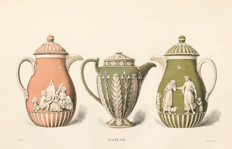 Plate VIII. Old Wedgewood, the Decorative or Artistic Ceramic Work. Frederich Rathbone.