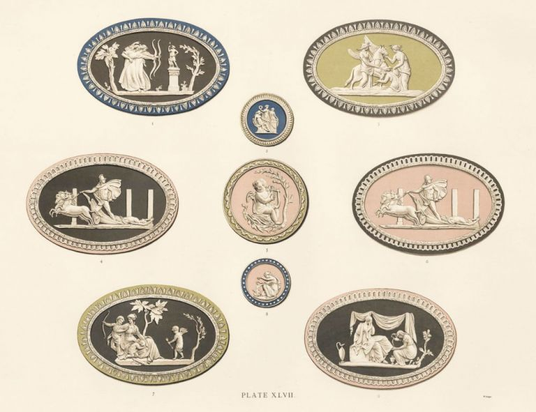 Plate XLVII. Old Wedgewood, the Decorative or Artistic Ceramic Work. Frederich Rathbone.