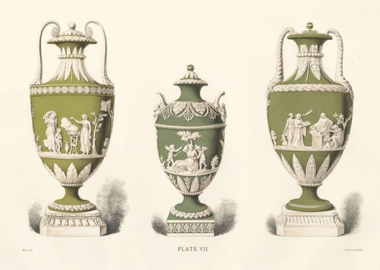 Plate VII. Old Wedgewood, the Decorative or Artistic Ceramic Work. Frederich Rathbone.