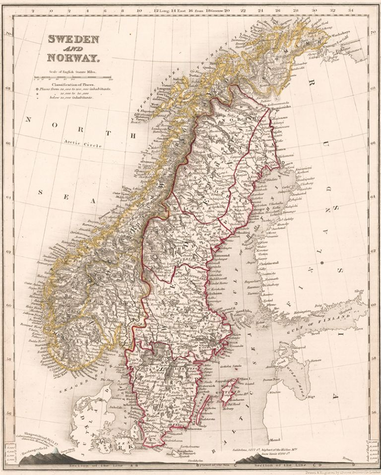 Sweden and Norway. J. Dower.