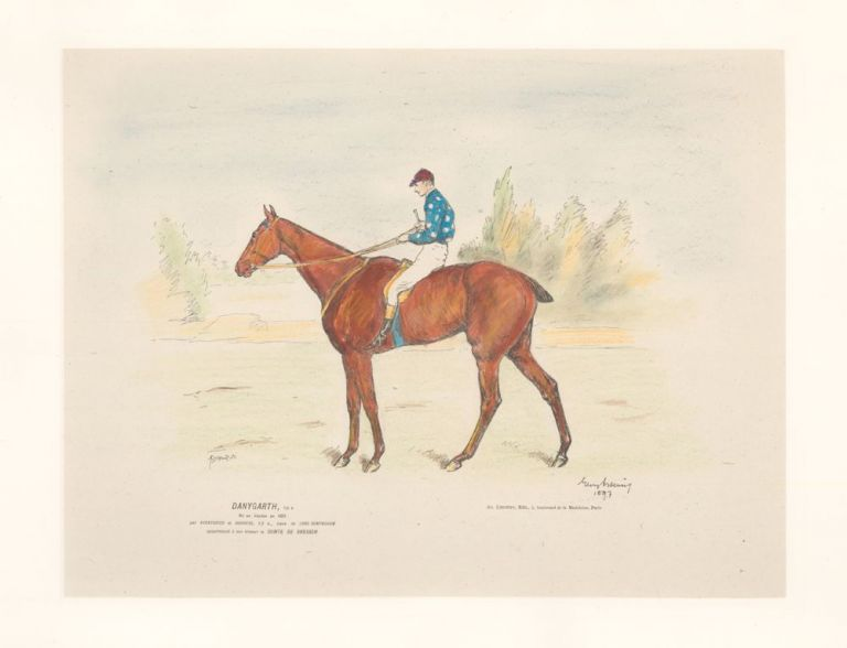 Danygarth, 1/2 S. Horse and Jockey. Unknown.