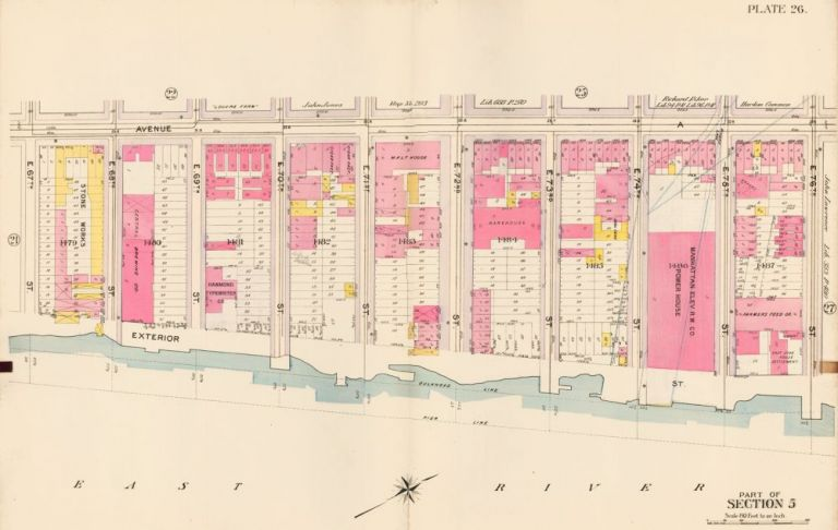 Section 5: Plate 26. Atlas of the City of New York. Bromley, GW Bromley, Co.