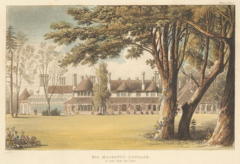 His Majesty's Cottage. Ackermann's Repository of Arts &c. Rudolph Ackermann.