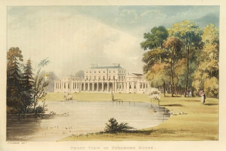 Front View of Frogmore House. Ackermann's Repository of Arts &c. Rudolph Ackermann.