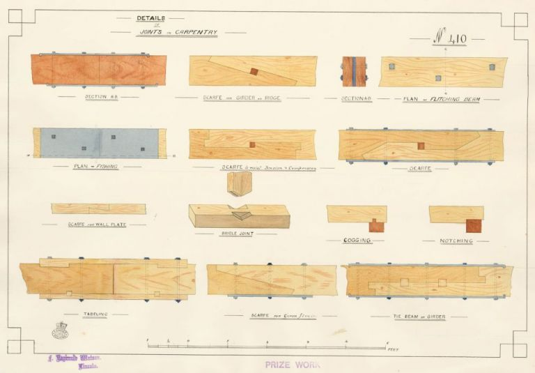 Details of Joints in Carpentry. F. Reginald Watson.