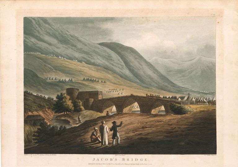 Jacob's Bridge. Picturesque Scenery in the Holy Land and Syria. Francis B. Spilsbury.