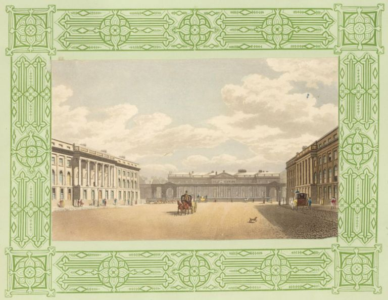 Waterloo Place. The Repository of Arts, Literature, Commerce, Manufactures, Fashions, and Politics. Rudolph Ackermann.