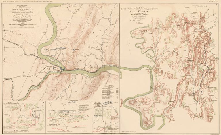 Harper's Ferry, Peninsular Campaign, Shenandoah Valley, Hagerstown, Funkstown, Williamsport, Falling Water, and Cedar Mountain. Atlas to Accompany the Official Records of the Union and Confederate Armies. The United States War Department.