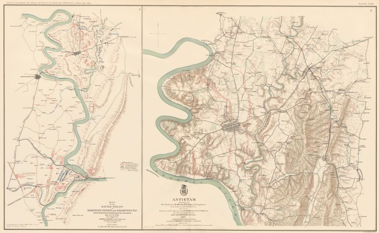 Maryland Campaign. Atlas to Accompany the Official Records of the Union and Confederate Armies. The United States War Department.