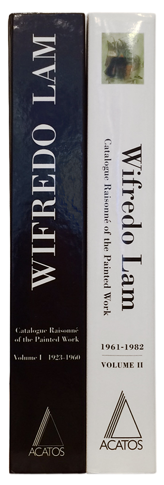 WIFREDO LAM:.Catalogue Raisonné of the Painted Work Volume I 1923-1960 and Volume II 1961-1982. Lou Laurin-Lam.