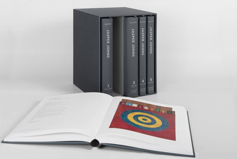 JASPER JOHNS: Catalogue Raisonné of Painting and Sculpture. Roberta Bernstein.