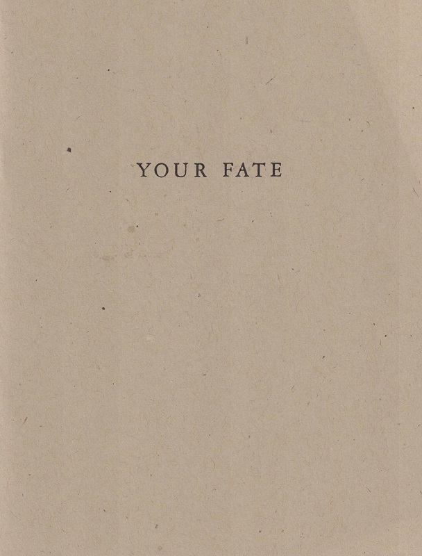 Your Fate. ALLAN MCCOLLUM, Matt Mullican.