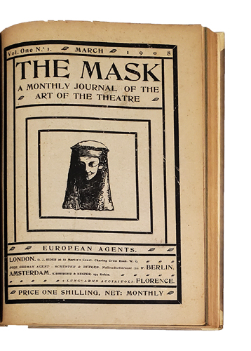 The Mask. A Monthly Journal of the Art of the Theatre. Volumes 1-15 (all published). Edward Gordon CRAIG.