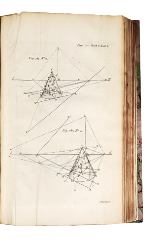 Stereography,or, A compleat body of perspective, in all its branches. Teaching to describe, by mathematical rules, the appearances of lines, plain figures, and solid bodies rectilinear, curvilinear, and mixed in all manner of positions. John HAMILTON.