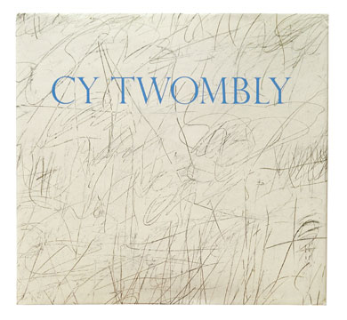 CY TWOMBLY. Katharina Schmidt, Houston. Menil Collection, Menil, Art Center Des Moines.