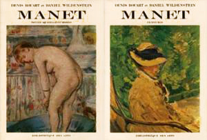 EDOUARD MANET: Catalogue Raisonne. DENIS ET DANIEL WILDENSTEIN ROUART, WILDENSTEIN.