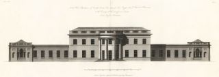 North West Elevation of Castle Coole The Seat of The Right Honorable Viscount Belmore. The New...
