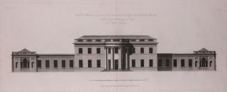 North West Elevation of Castle Coole The Seat of The Right Honorable Viscount Belmore. The New Vitruvius Britannicus; Consisting of Plans and Elevations of Modern Buildings, Public and Private, Erected in Great Britain by the Most Celebrated Architects.