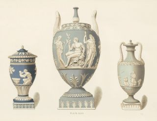 Plate XLVI. Old Wedgewood, the Decorative or Artistic Ceramic Work...