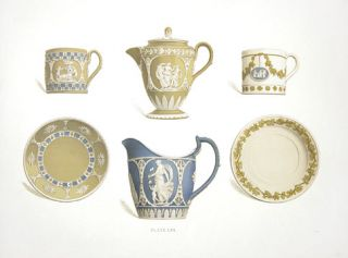 Plate LVI. Old Wedgewood, the Decorative or Artistic Ceramic Work. Frederich Rathbone.