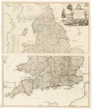 7 & 8. England & Wales. A New Universal Atlas. Thomas Kitchin.