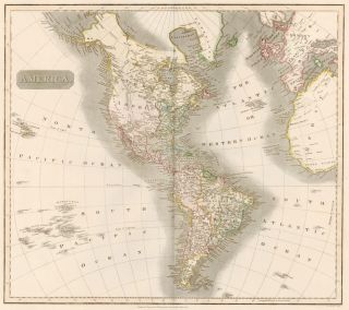 America, from New General Atlas