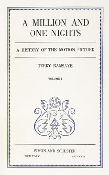 A Million and One Nights. Terry Ramsaye